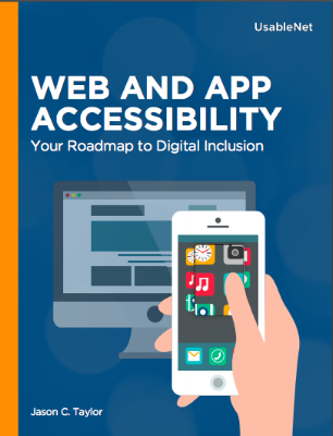 Web and App Accessibility E-book Cover